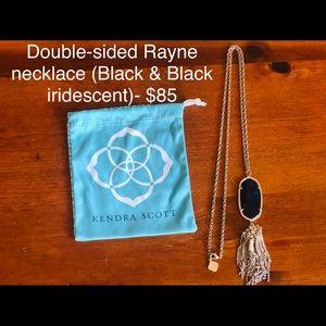 Kendra Scott double-sides Rayne necklace